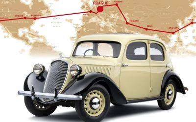 80 évvel ezelőtt a Föld körül: a ŠKODA Rapid világkörüli útja