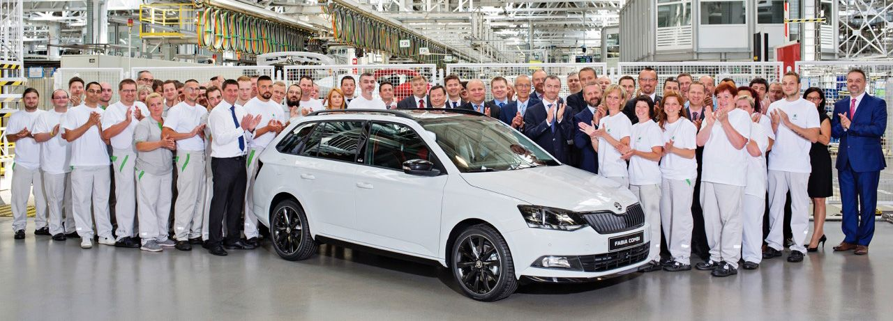 170615 SKODA FABIA III 500000 production jubilee
