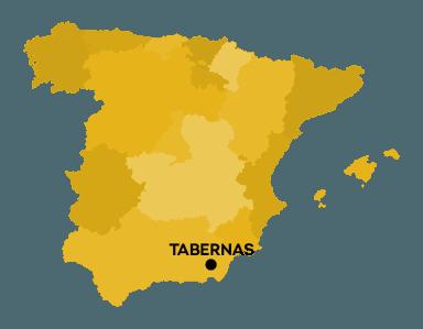 Tabernas - A modern postakocsi