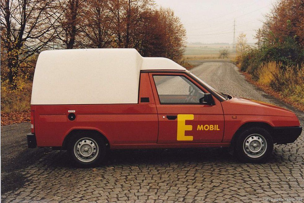 Elektromos Skodák - Eltra pick-up