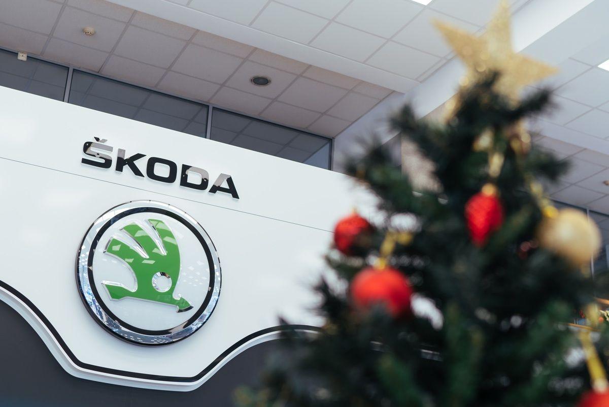 SKODA karácsonyfa