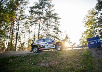 fabia skoda r5 evo sunset rallye race 1440x960