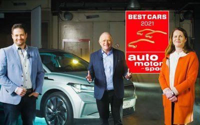 Best Cars 2021: az ENYAQ iV a legjobb import kompakt SUV